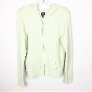 Eileen Fisher Jackets & Coats - Eileen Fisher XL Green Full Zip Hood Jacket